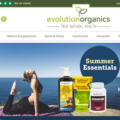 evolution organics website