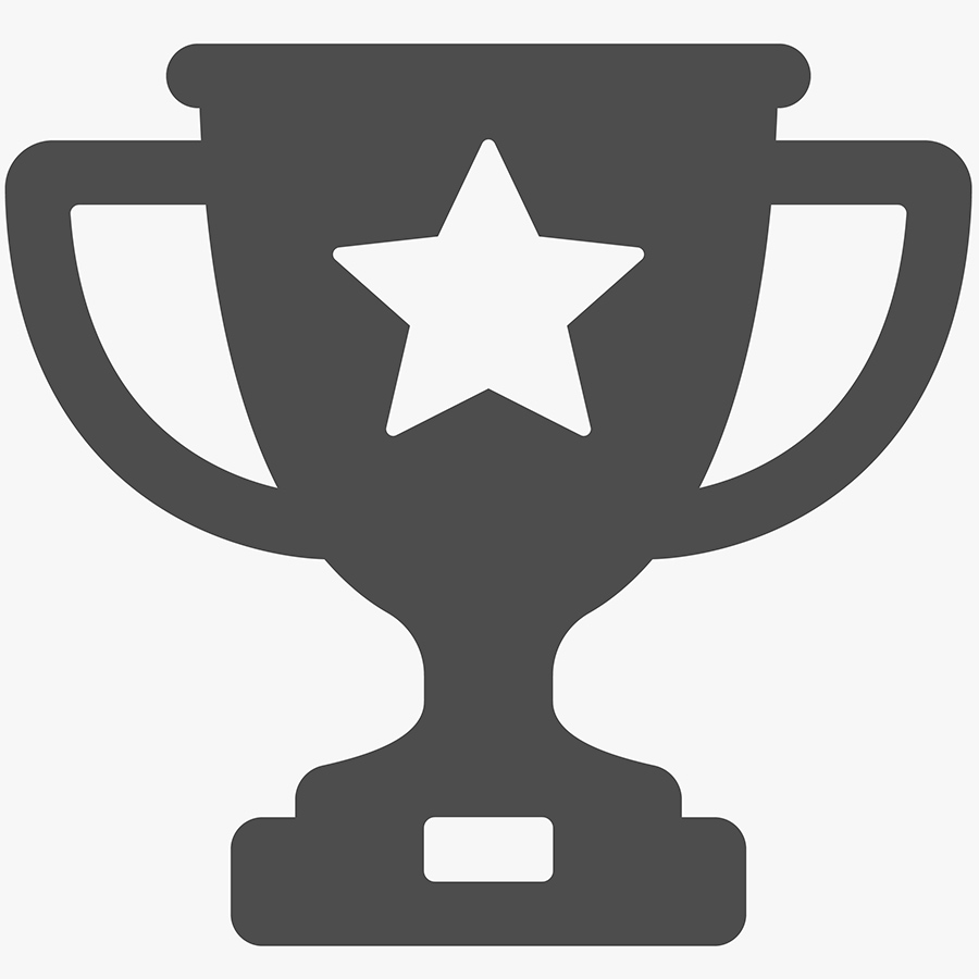membership icon of a trophy - getting better results
