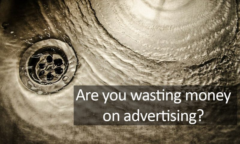wasted money down drain - use facebook ads