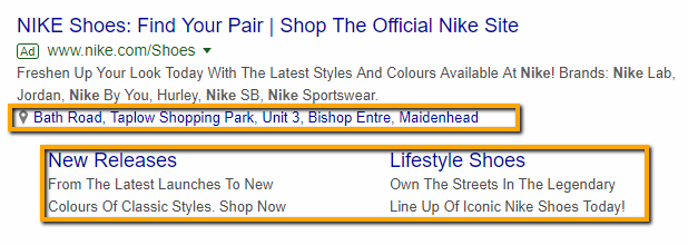 ad extension example 2
